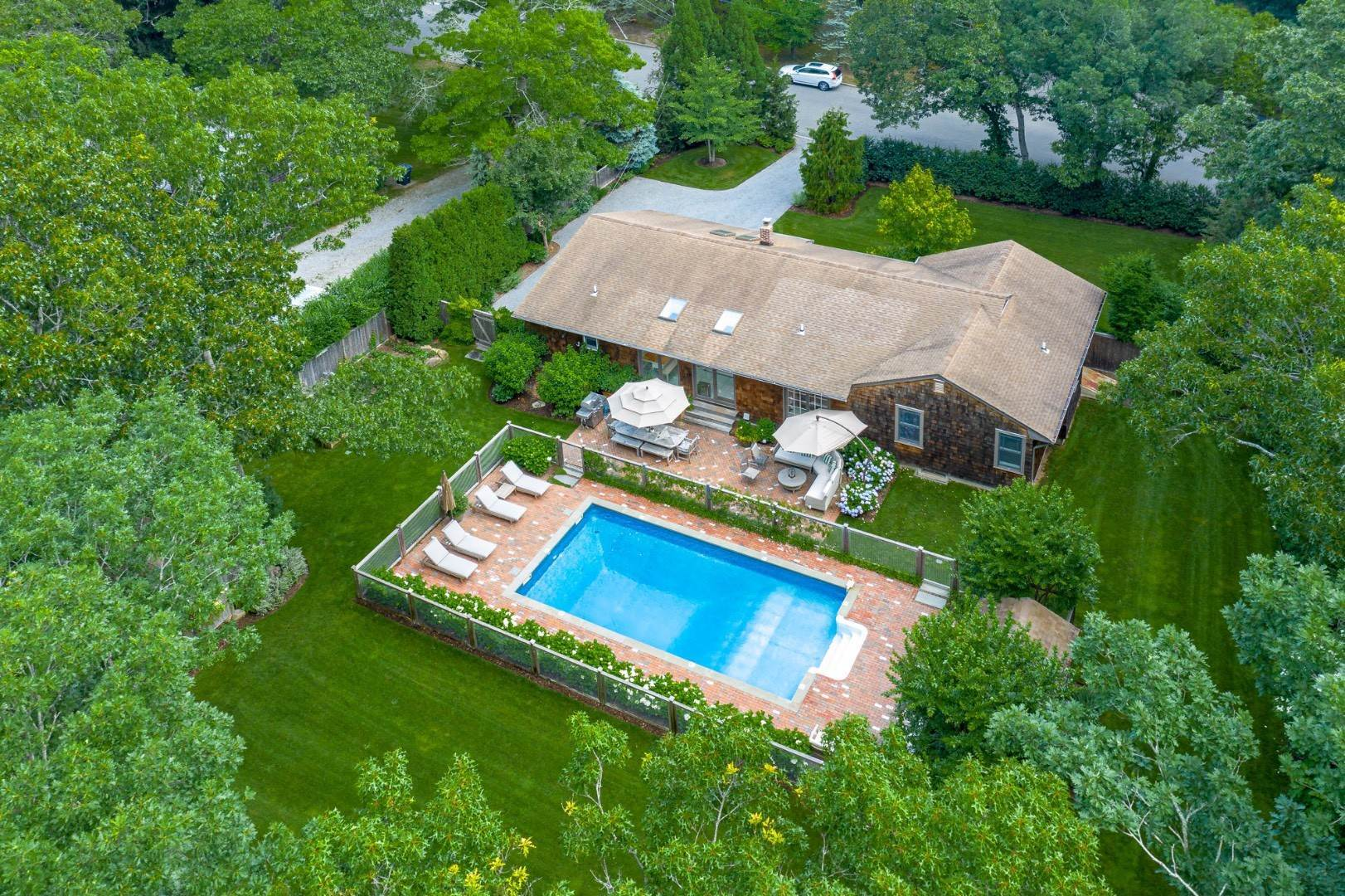 Single Family Home at Year Round In Sag Harbor With Hot Tub And Heated Pool 80 Denise Street, Sag Harbor South, NY 11963