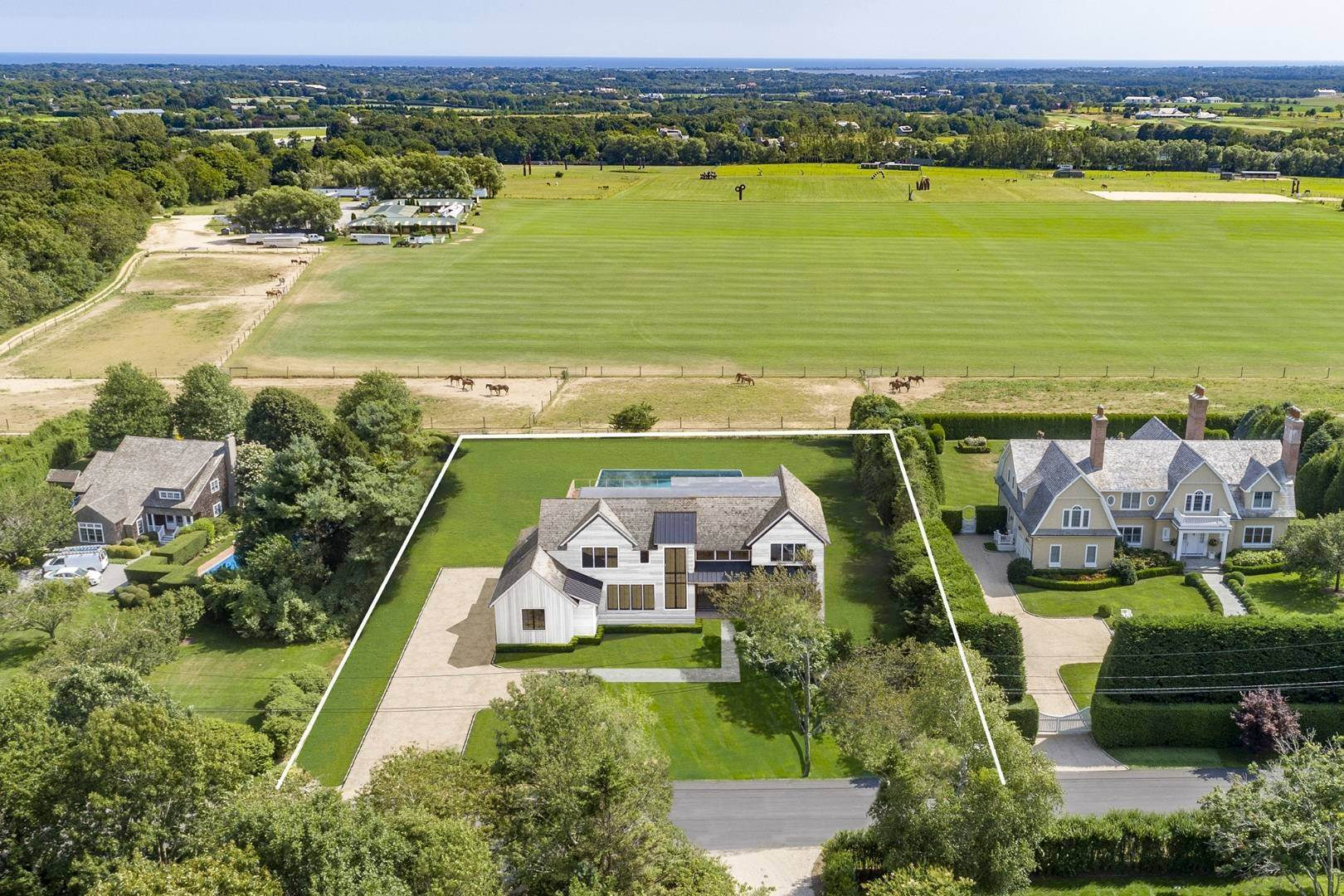 Single Family Home at Bridgehampton New Construction Adjacent To Reserve 365 Lopers Path, Bridgehampton, NY 11976