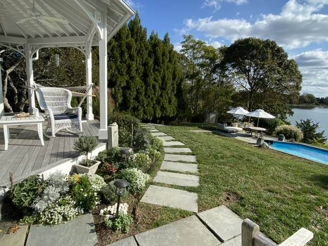 Single Family Home at Stately Shelter Island Bayfront With Pool And Dock Shelter Island Heights, NY 11964