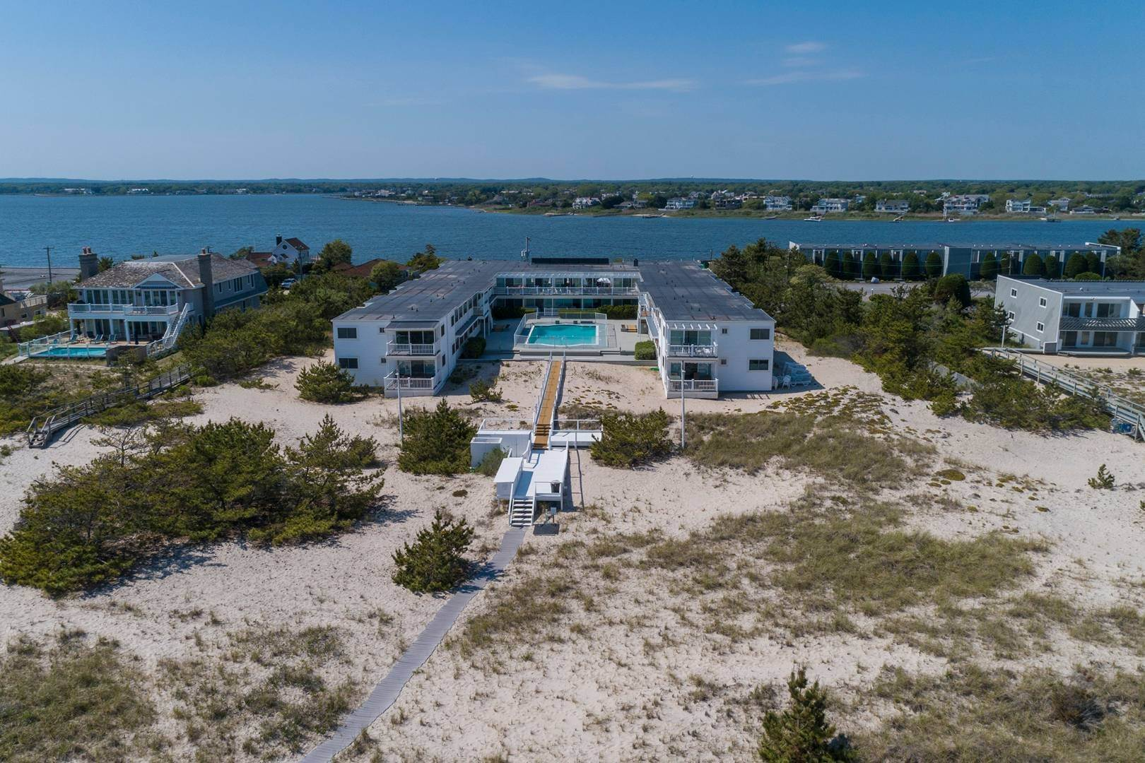 Co-op Properties at Oceanfront Living With Sunset Views 281 Dune Road, 8b And 9b, Westhampton Beach Village, NY 11978