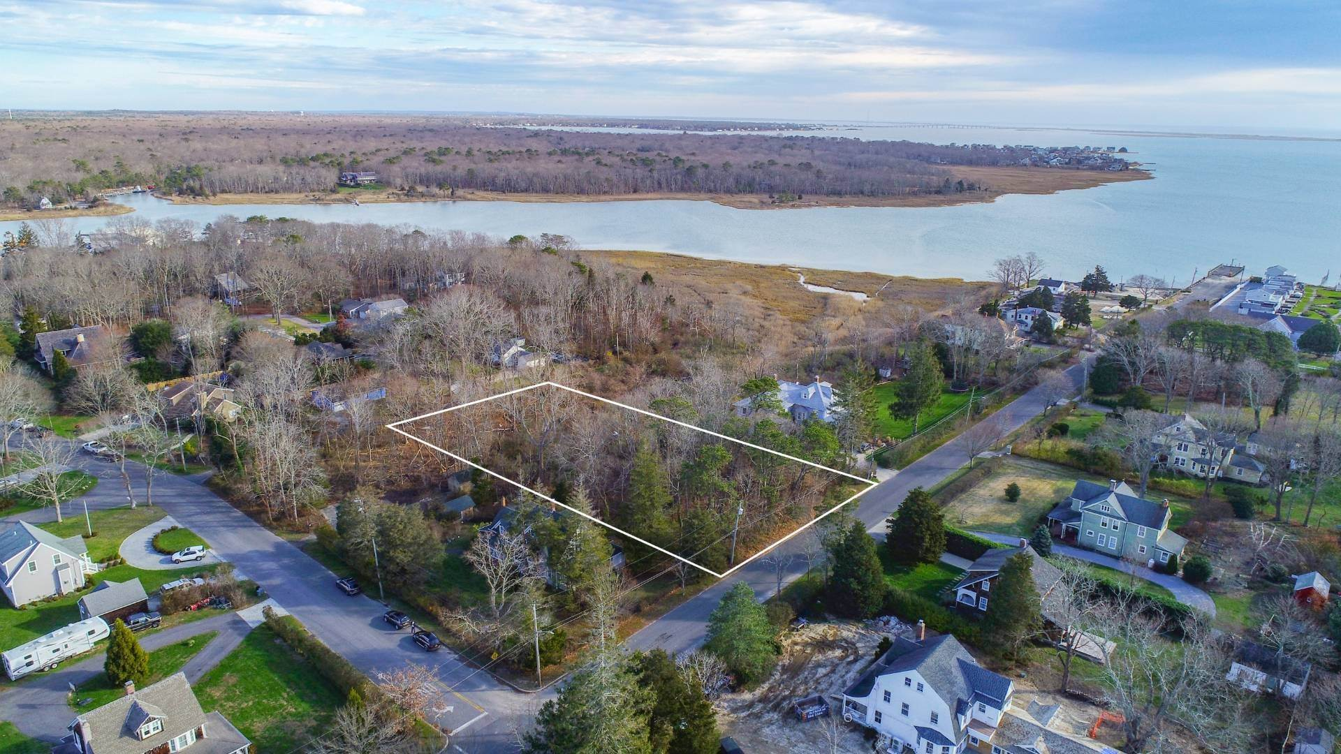 Land for Sale at Fabulous Water Views On Prime Street In East Quogue 23 Bay Avenue, East Quogue, NY 11942
