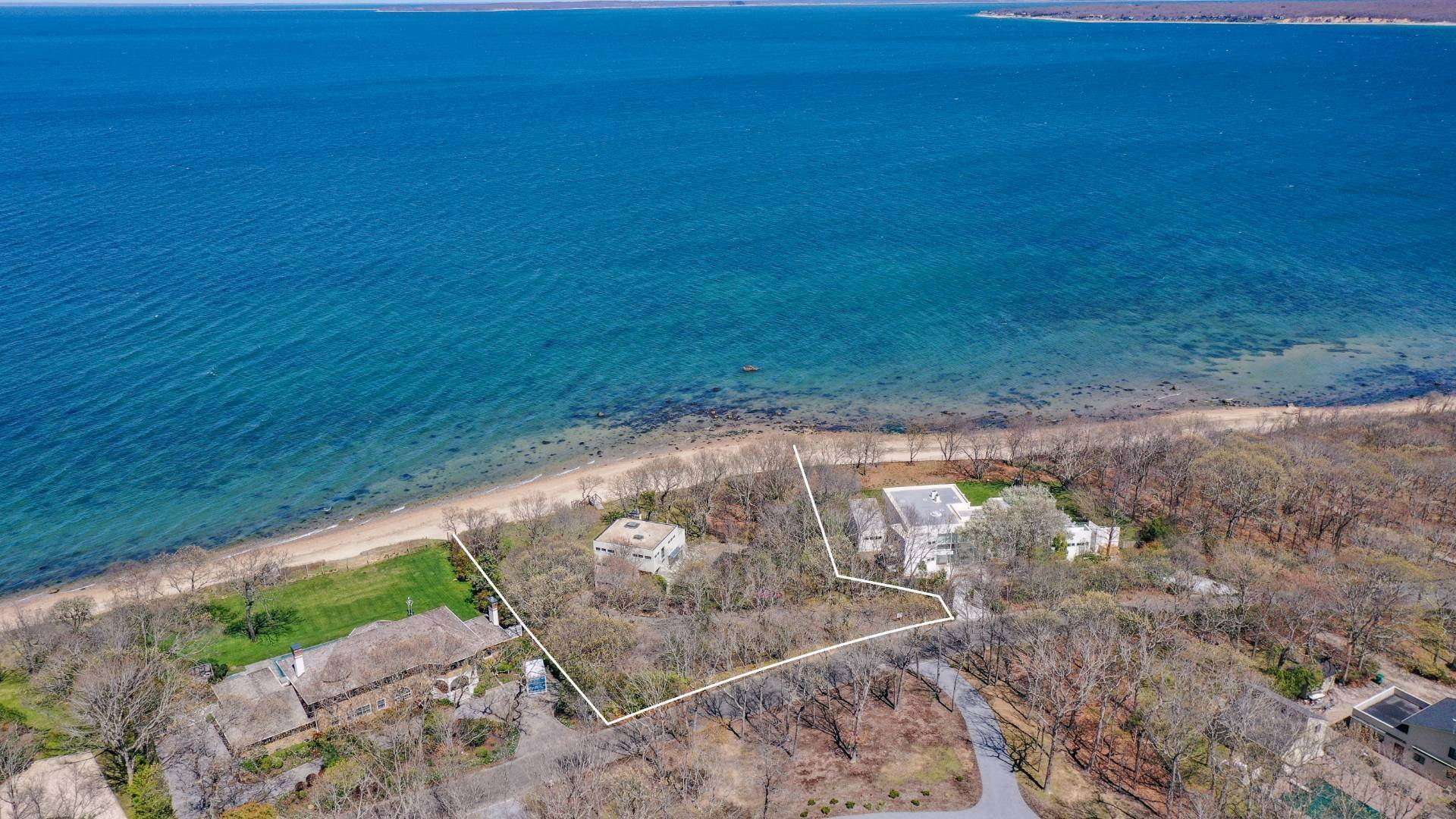 Single Family Home for Sale at Gardiner's Bay Waterfront 42 Hedges Banks Drive, East Hampton, NY 11937