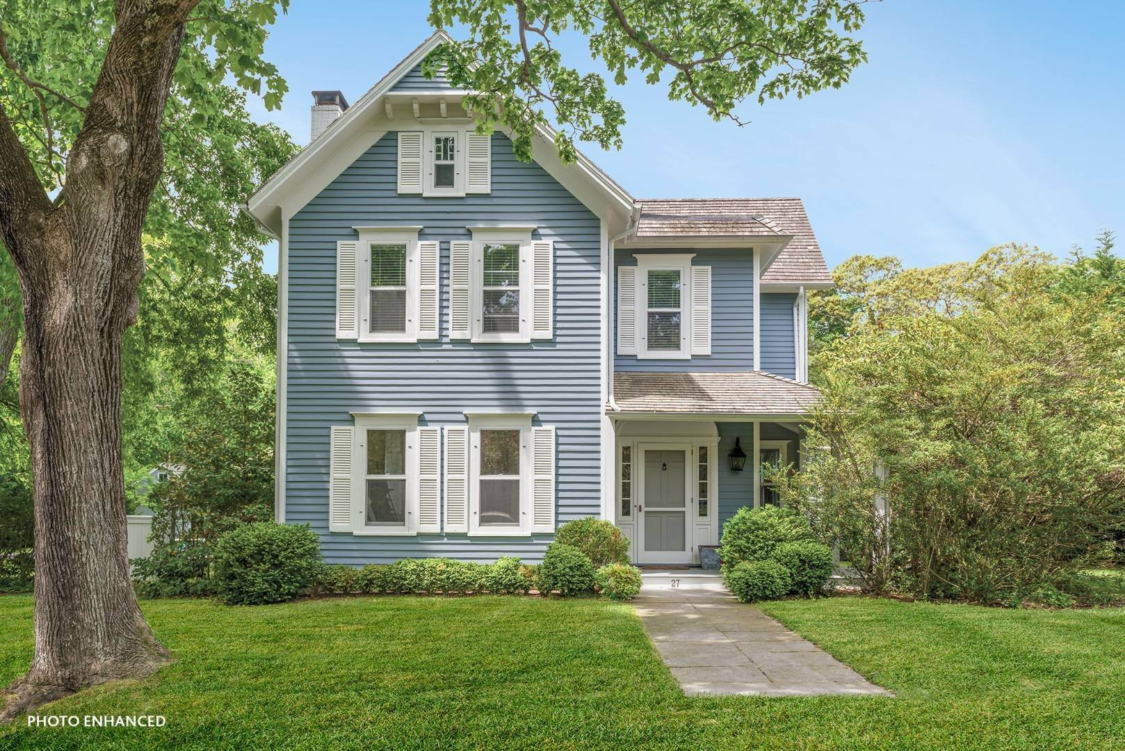 Single Family Home for Sale at Historic Sag Harbor Charm On Rare Half Acre 27 Columbia Street, Sag Harbor, NY 11963