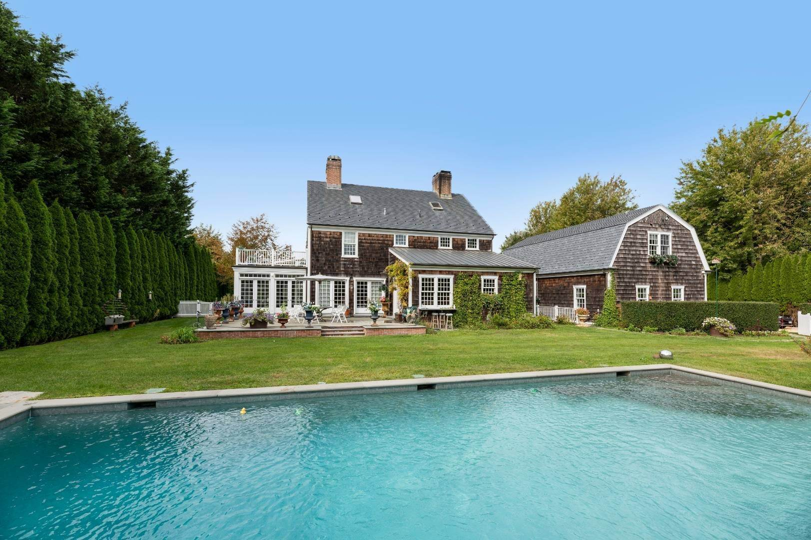 3. Single Family Home at Estate Level Elegance At The Nowedonah House 631 Head Of The Pond Road, Water Mill, NY 11976