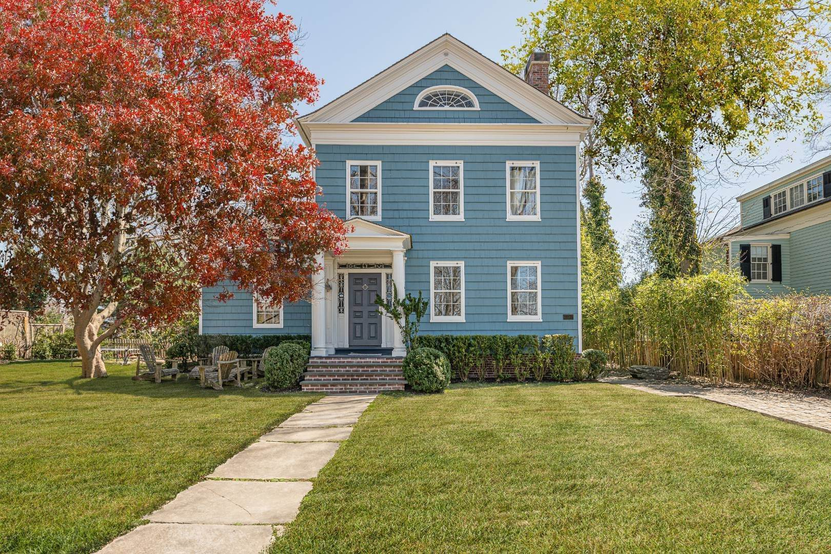 Single Family Home for Sale at 1+ Acre Historic District Offering 10 High Street, Sag Harbor, NY 11963