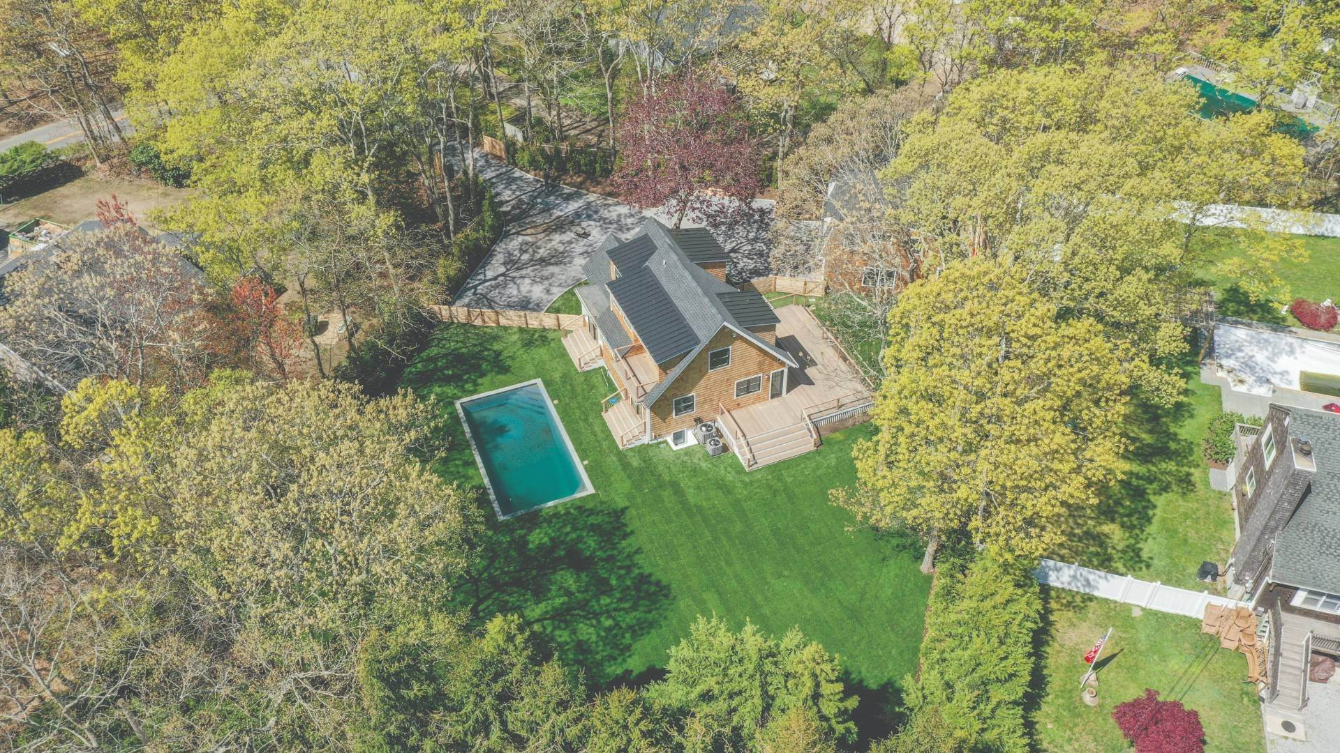 Single Family Home for Sale at Southampton New Renovation Near Village With Heated Gunite Pool 9 West Neck Road, Southampton, NY 11968