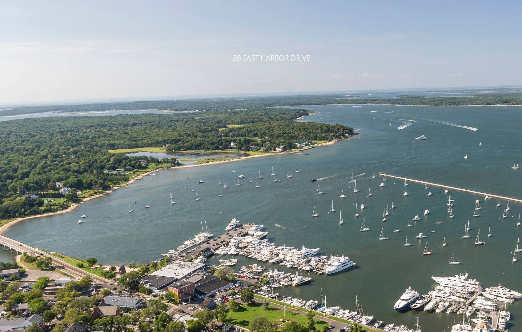 Single Family Home for Sale at Waterfront Architectural Dream 28 East Harbor Drive, Sag Harbor, NY 11963