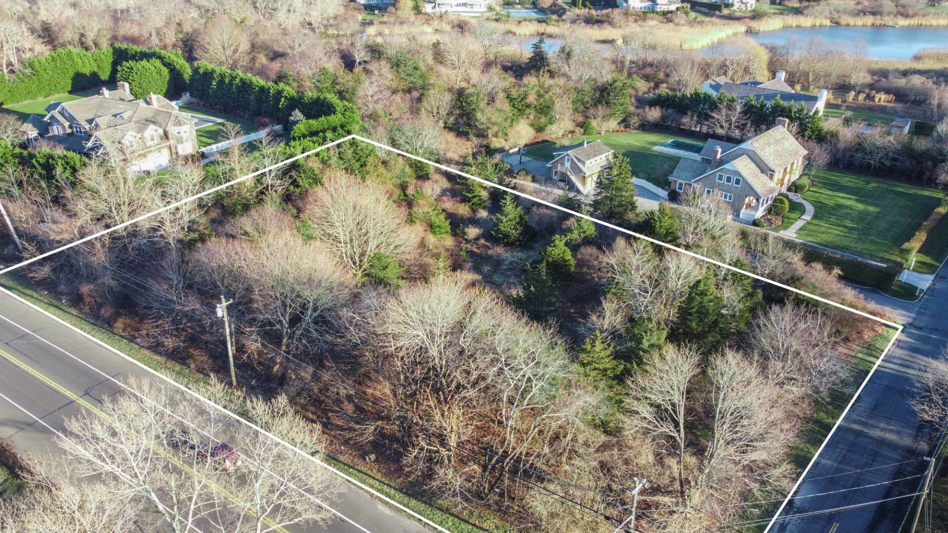 Land for Sale at Water Mill South Of Highway Lot With 2nd Flr Water Views 11 Bay Avenue, Water Mill, NY 11976