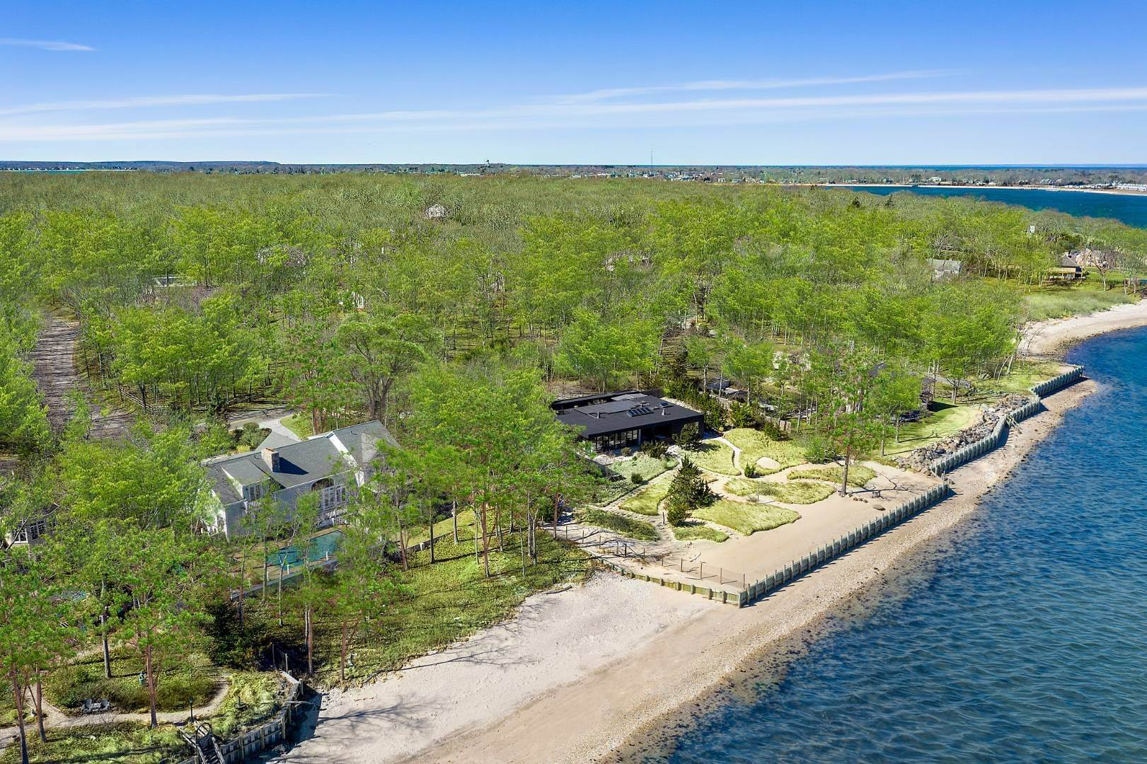 Single Family Home for Sale at Shelter Island Gardiners Bay Beach House With Pool 72 Gardiners Bay Drive, Shelter Island Heights, NY 11964