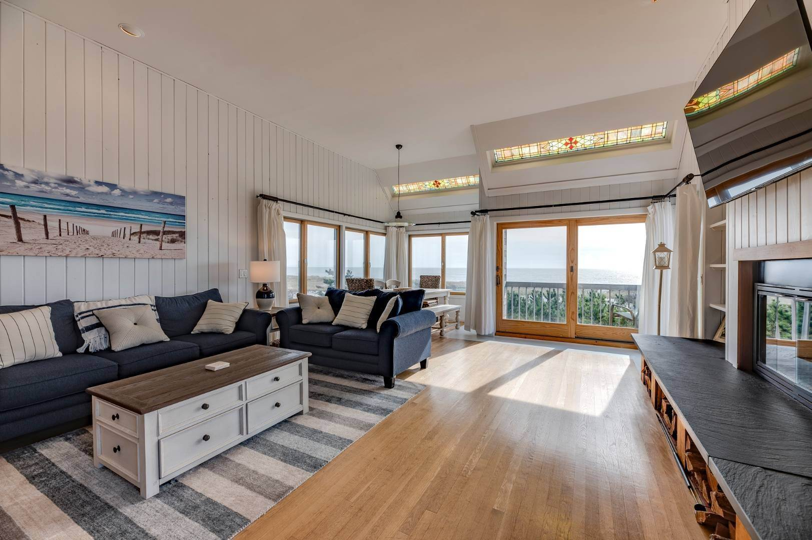 3. Single Family Home at Relaxing Oceanfront Retreat Available Winter Or Summer Rental! 449 Dune Road, Westhampton Beach Village, NY 11978