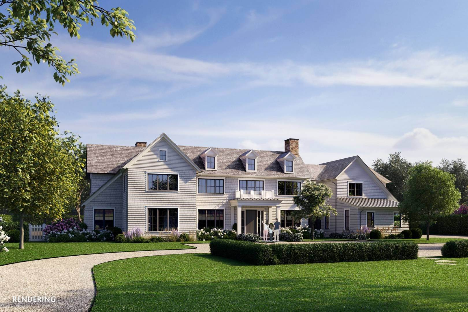 Single Family Home for Sale at Spectacular And New Private Estate By Michael Davis 102 Highland Terrace, Bridgehampton, NY 11968