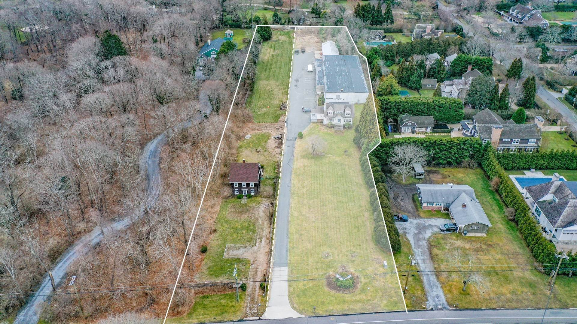 Commercial for Sale at Southampton Village Commercial/Development Opportunity 550 & 554 Hill Street, Southampton, NY 11968