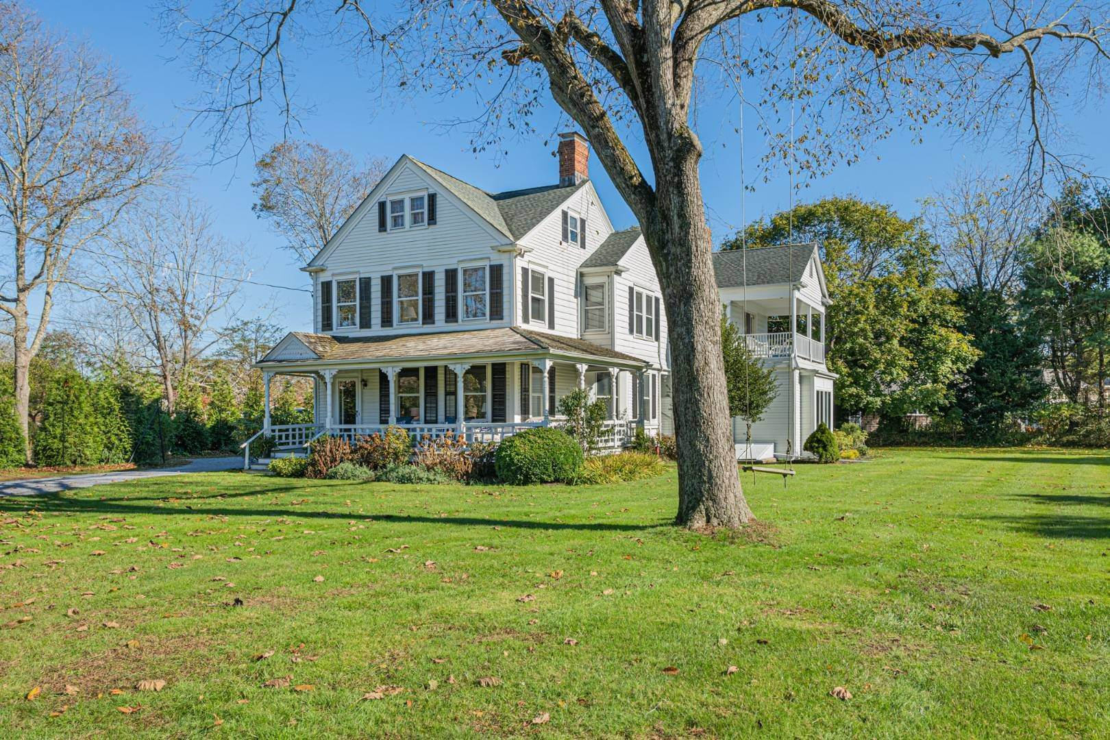 Single Family Home for Sale at Historic Victorian On Quogue Street 81 Quogue Street, Quogue Village, NY 11959