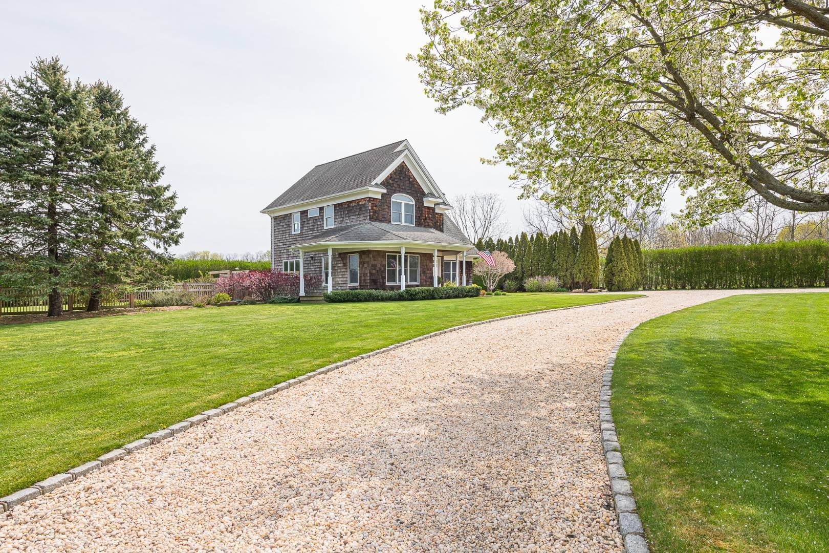 Single Family Home for Sale at Sophisticated Farmhouse With Farm Views & Close To Everything 93 Grant Dr, Aquebogue, NY 11901