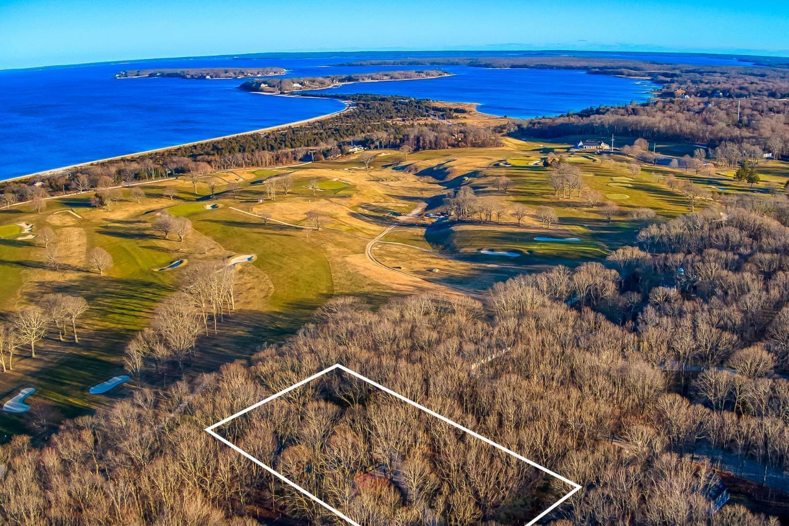 Land for Sale at Shelter Island Country Club Estate Section Acreage 30 Country Club Drive, Shelter Island Heights, NY 11964