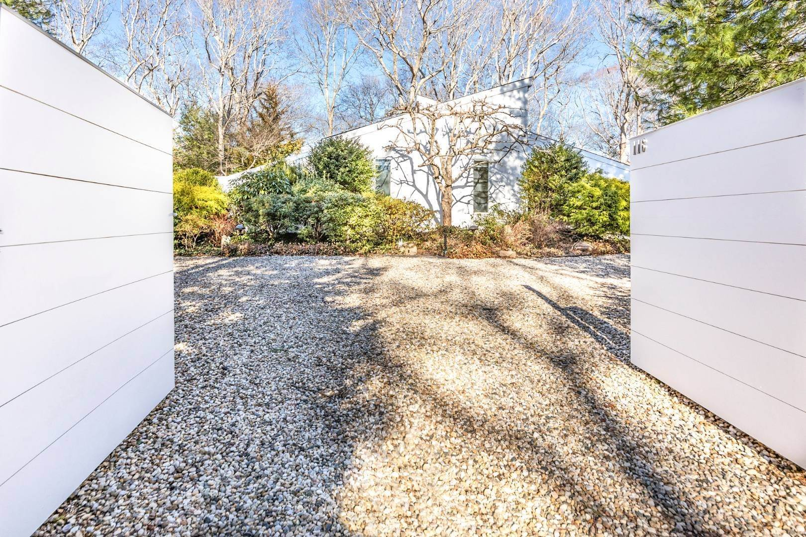 Single Family Home for Sale at Artful East Hampton Postmodern 116 Sycamore Drive, East Hampton, NY 11937