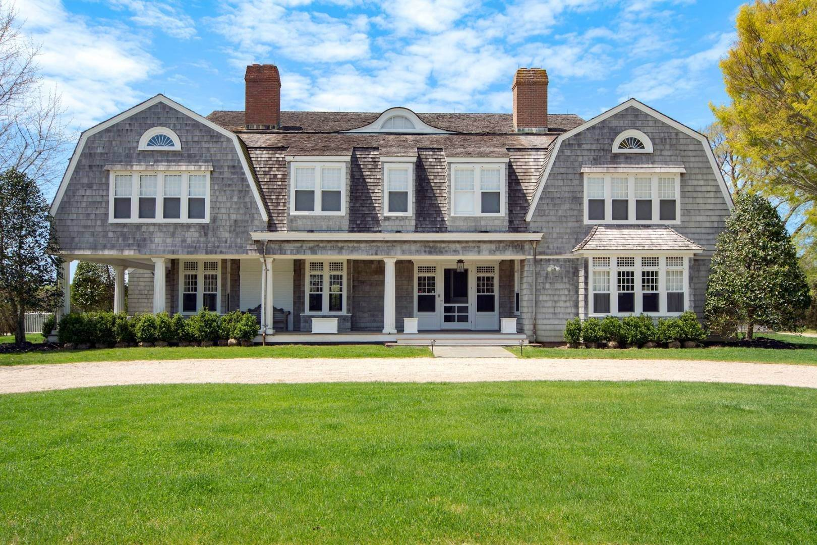 Single Family Home at First Neck Lane Estate Section Rental 505 First Neck Lane, Southampton, NY 11968