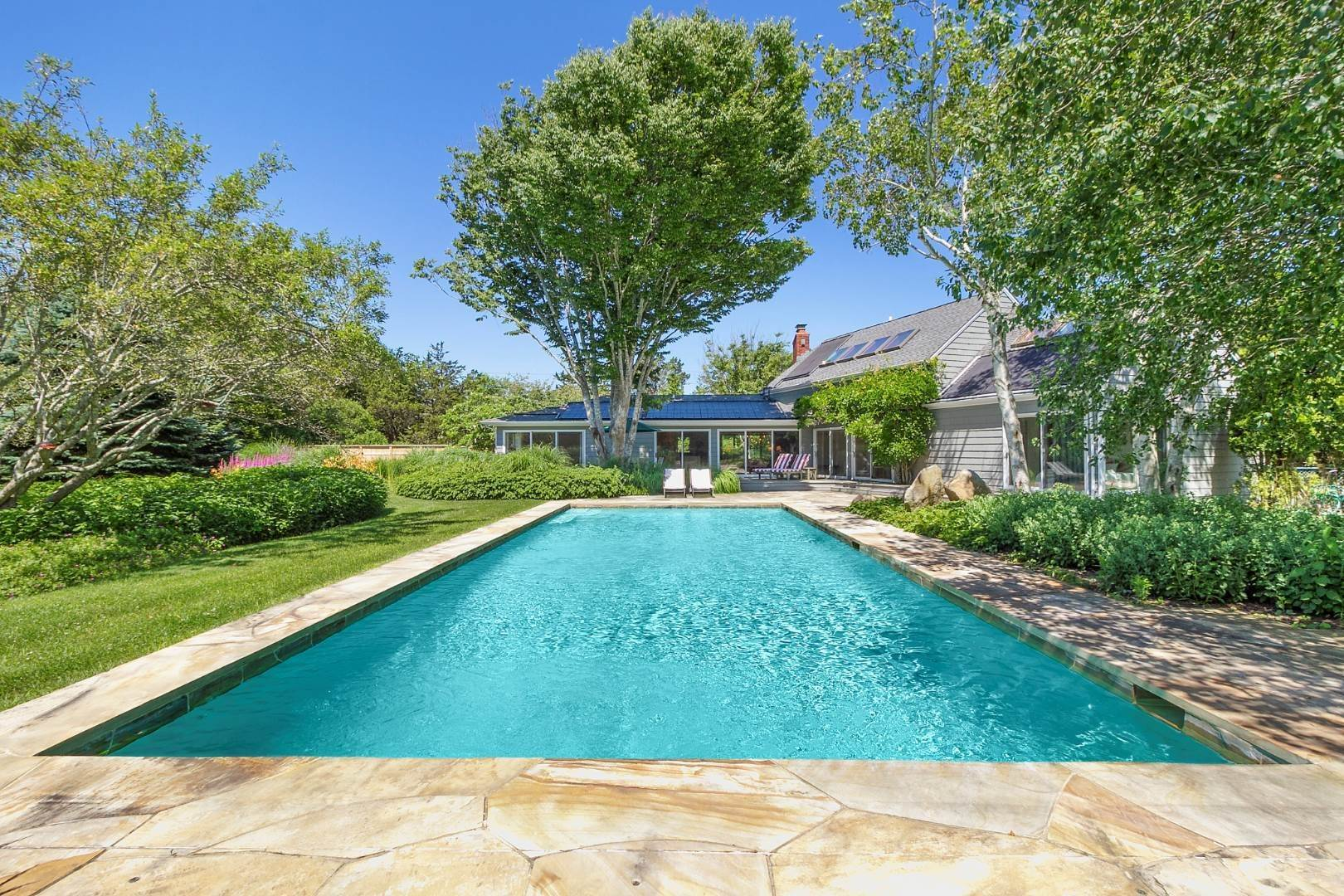 Single Family Home at Pool And Privacy Near Sagaponack Beaches 51 Seascape Lane, Sagaponack Village, NY 11962