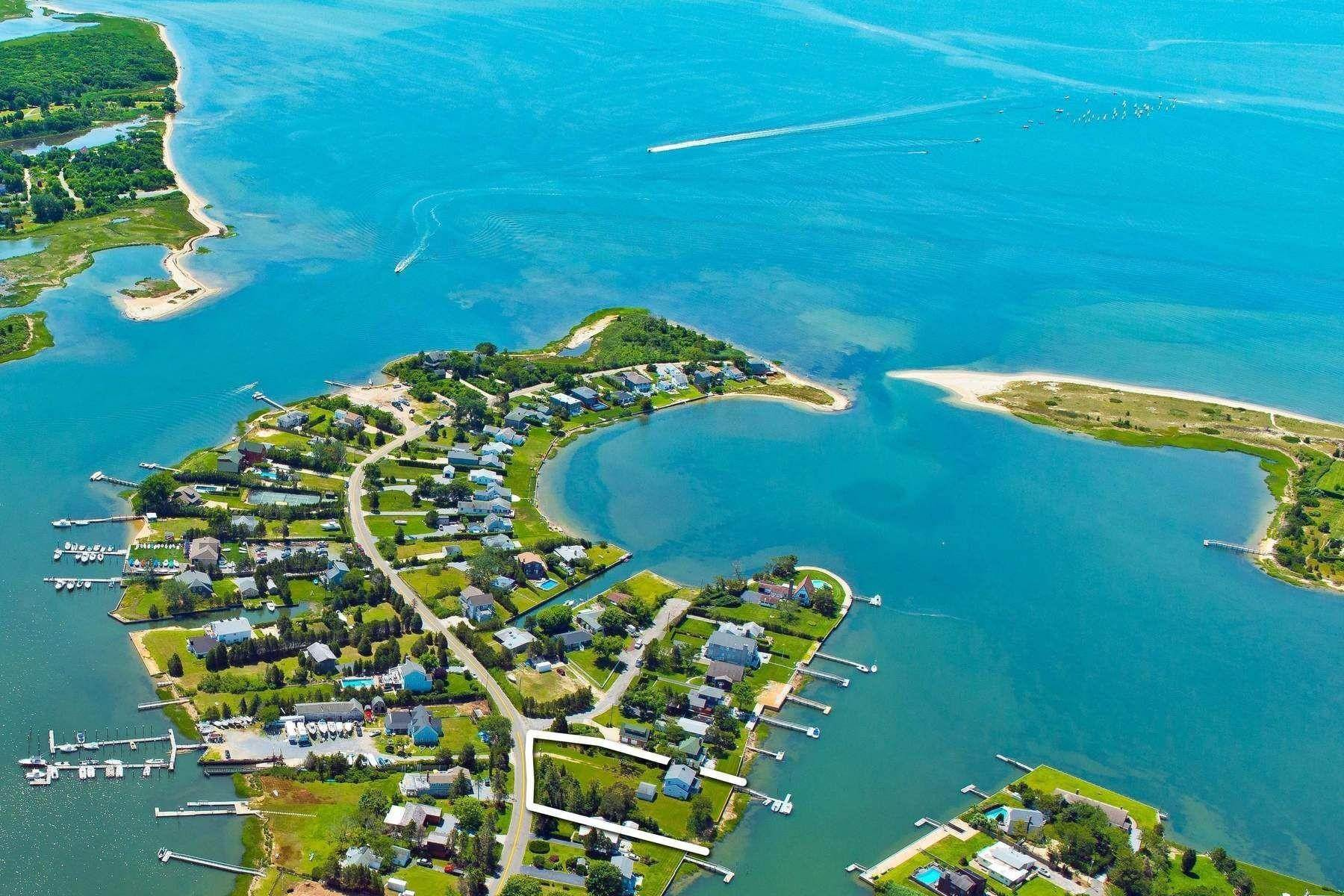 Single Family Home for Sale at Dream Home Opportunity On The Water 69 Little Neck Road, Southampton, NY 11932