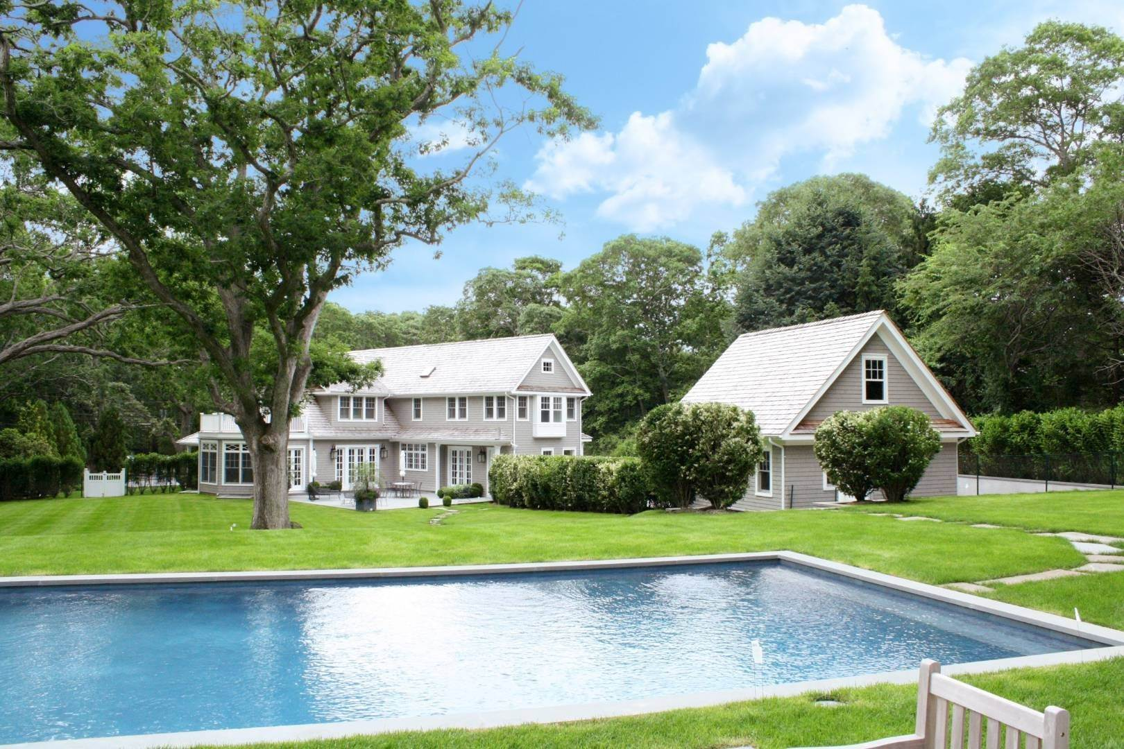 Single Family Home for Sale at Four Seasons Retreat 105 Cove Hollow Road, East Hampton, NY 11937