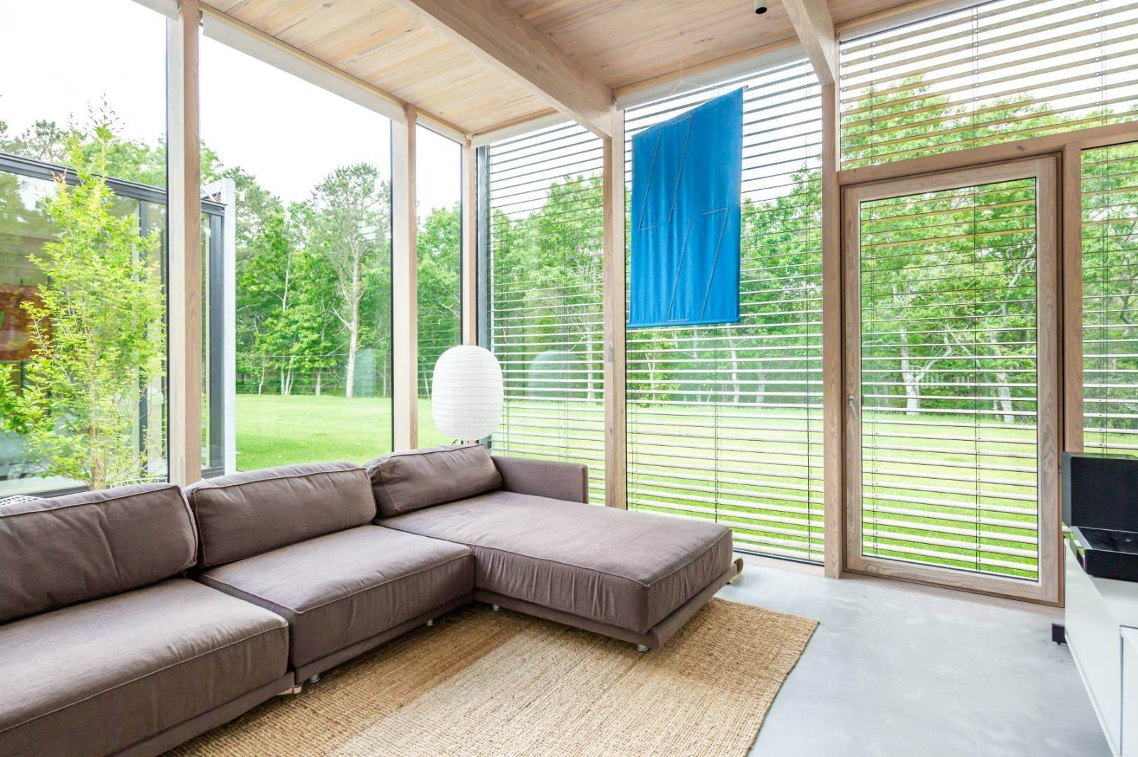 10. Single Family Home at Modern Glass House With Grace, Style And Warmth 184 Red Dirt Road, East Hampton, NY 11937