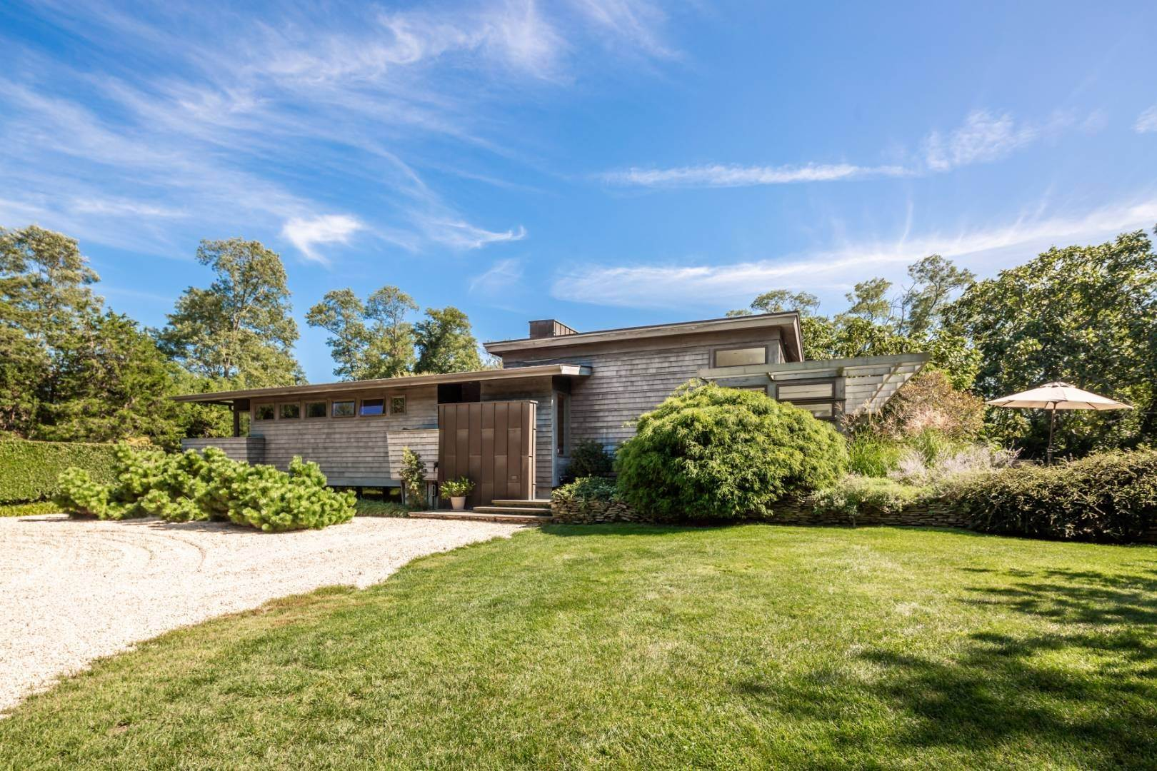 Single Family Home at True Modern With Complete Privacy Shelter Island Heights, NY 11964