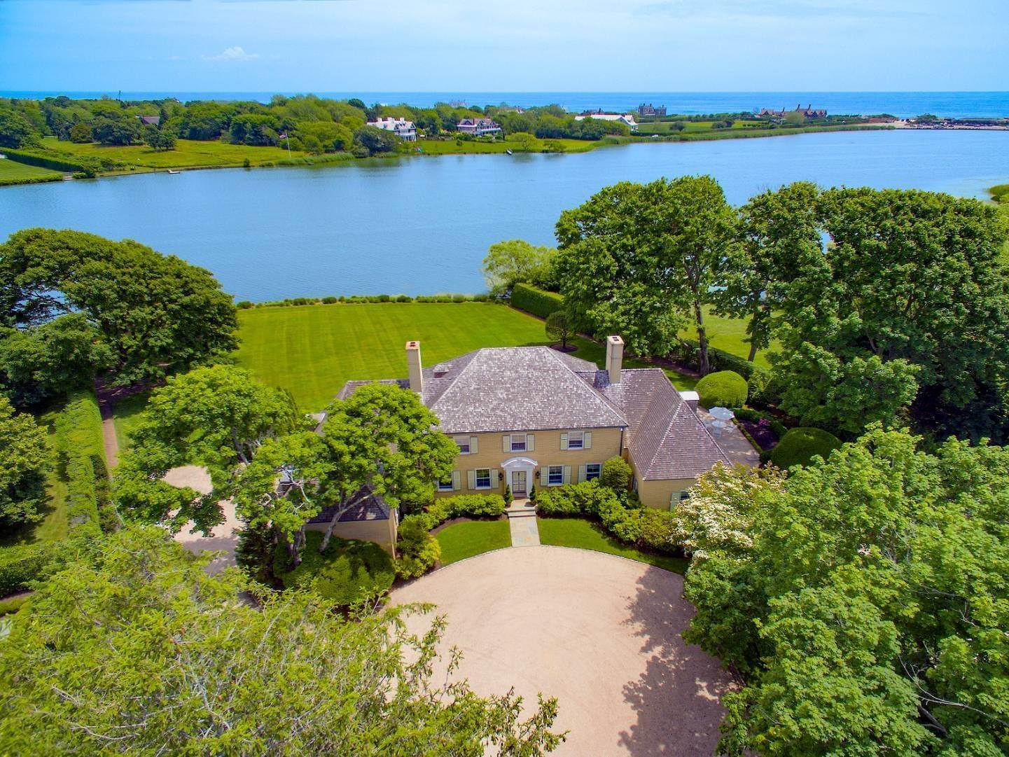 Single Family Home for Sale at Lake Agawam Estate 310 First Neck Lane, Southampton, NY 11968