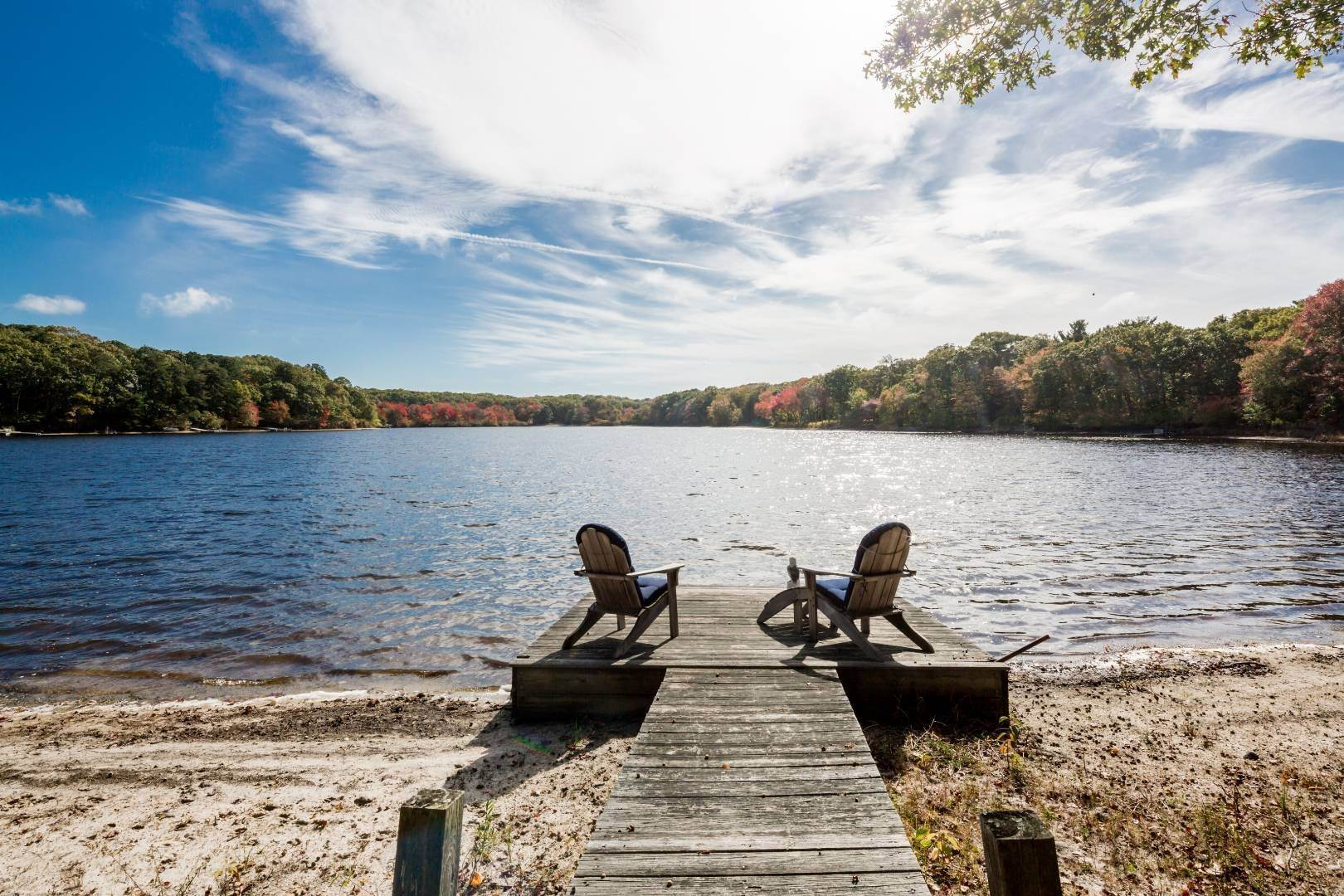 Single Family Home for Sale at Charming Cottage On Fresh Pond With Dock 70 Little Fresh Pond Road, Southampton, NY 11968