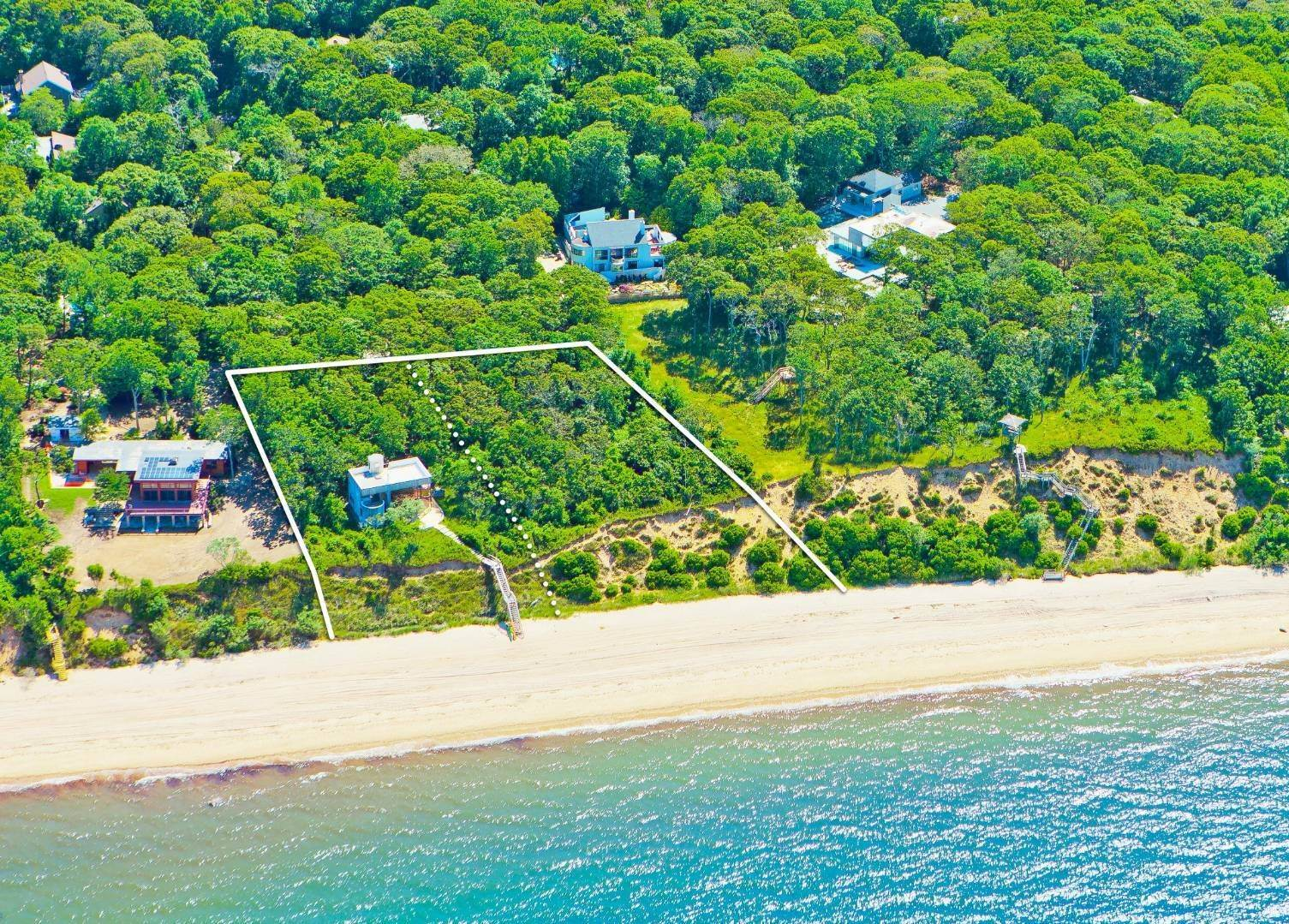Single Family Home for Sale at Incomparable Waterfront Compound 39 & 41 Milina Drive, East Hampton, NY 11937