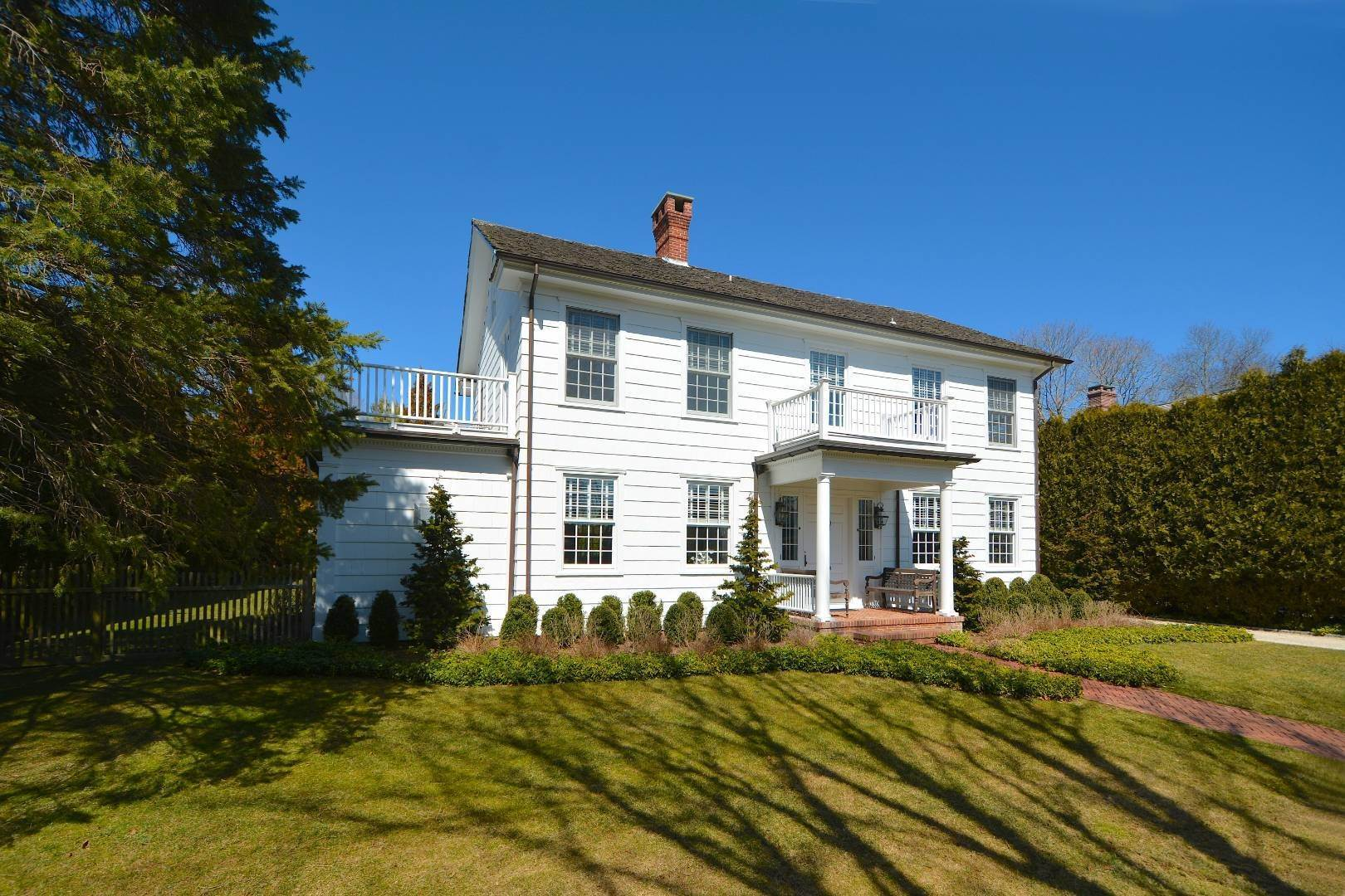 2. Single Family Home at Classic Herrick Road Home With Pool 75 Herrick Road, Southampton, NY 11968