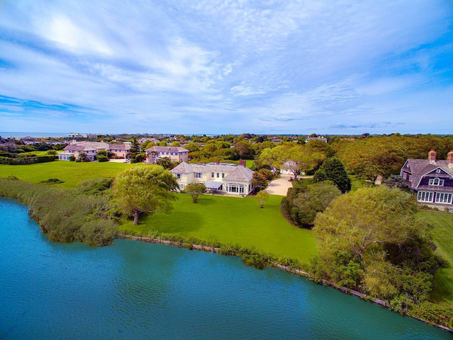 Single Family Home for Sale at Dogwood Pond On Coopers Neck Lane, Southampton 284 Coopers Neck Lane, Southampton, NY 11968