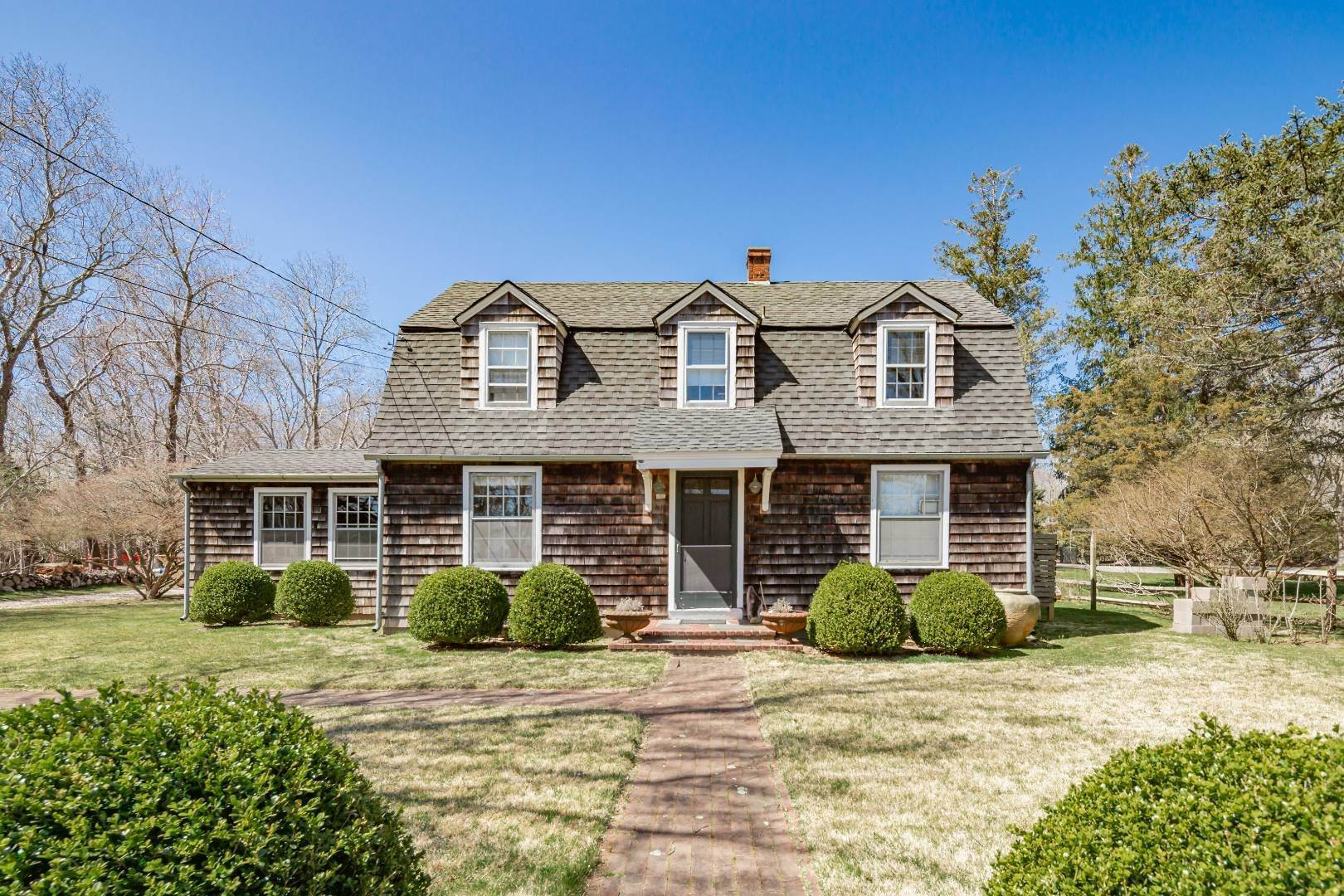 Single Family Home for Sale at Timeless Springs Farmhouse Compound 943 Springs Fireplace Road, East Hampton, NY 11937