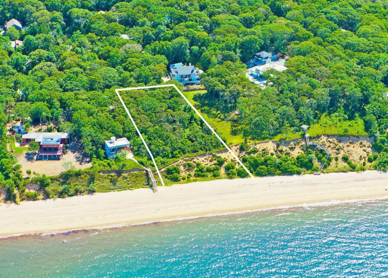 Land for Sale at Incomparable Waterfront Land 39 Milina Drive, East Hampton, NY 11937