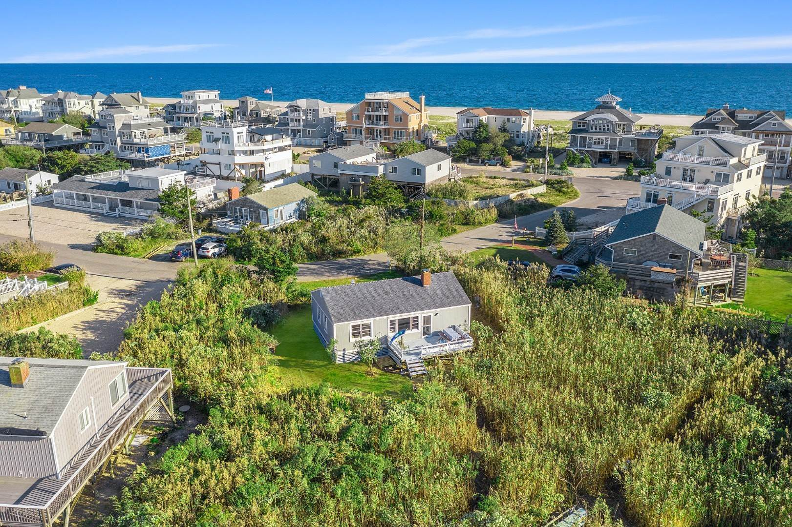 Single Family Home for Sale at Beach Cottage By The Bay With Ocean Access 36 Dune Lane, Westhampton Dunes Village, NY 11978