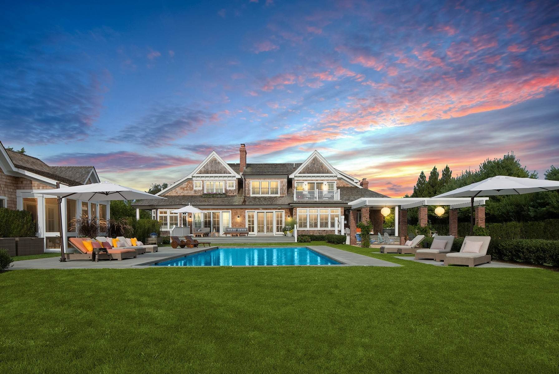 20. Single Family Home at Bridgehampton South Masterpiece 38 West Pond Drive, Bridgehampton, NY 11932