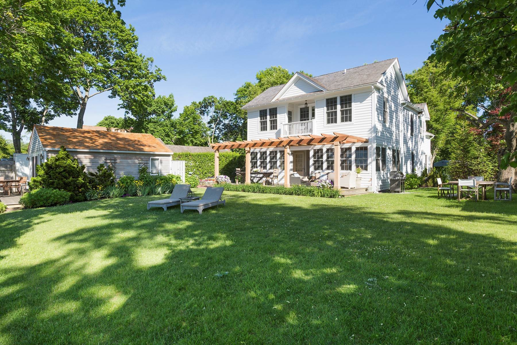 Single Family Home at Classic Waterfront On Sag Harbor Cove Sag Harbor, NY 11963