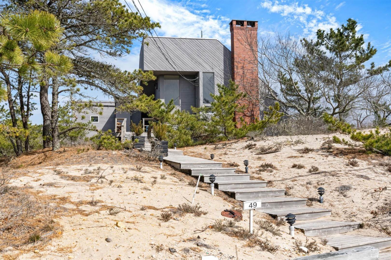 23. Single Family Home at Hamptons Rental Ocean Side Contemporary In Amagansett 49 Gilberts Path, Napeague, NY 11930