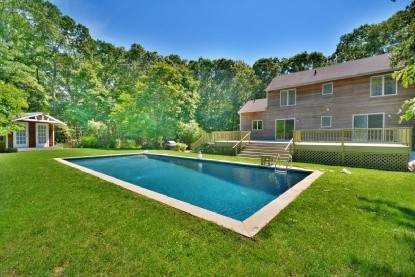 Single Family Home at Private Home With Large Gunite Pool Sag Harbor, NY 11963