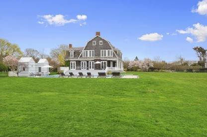 16. Single Family Home at Waterfront On Mecox Bay With Boathouse Water Mill, NY 11976