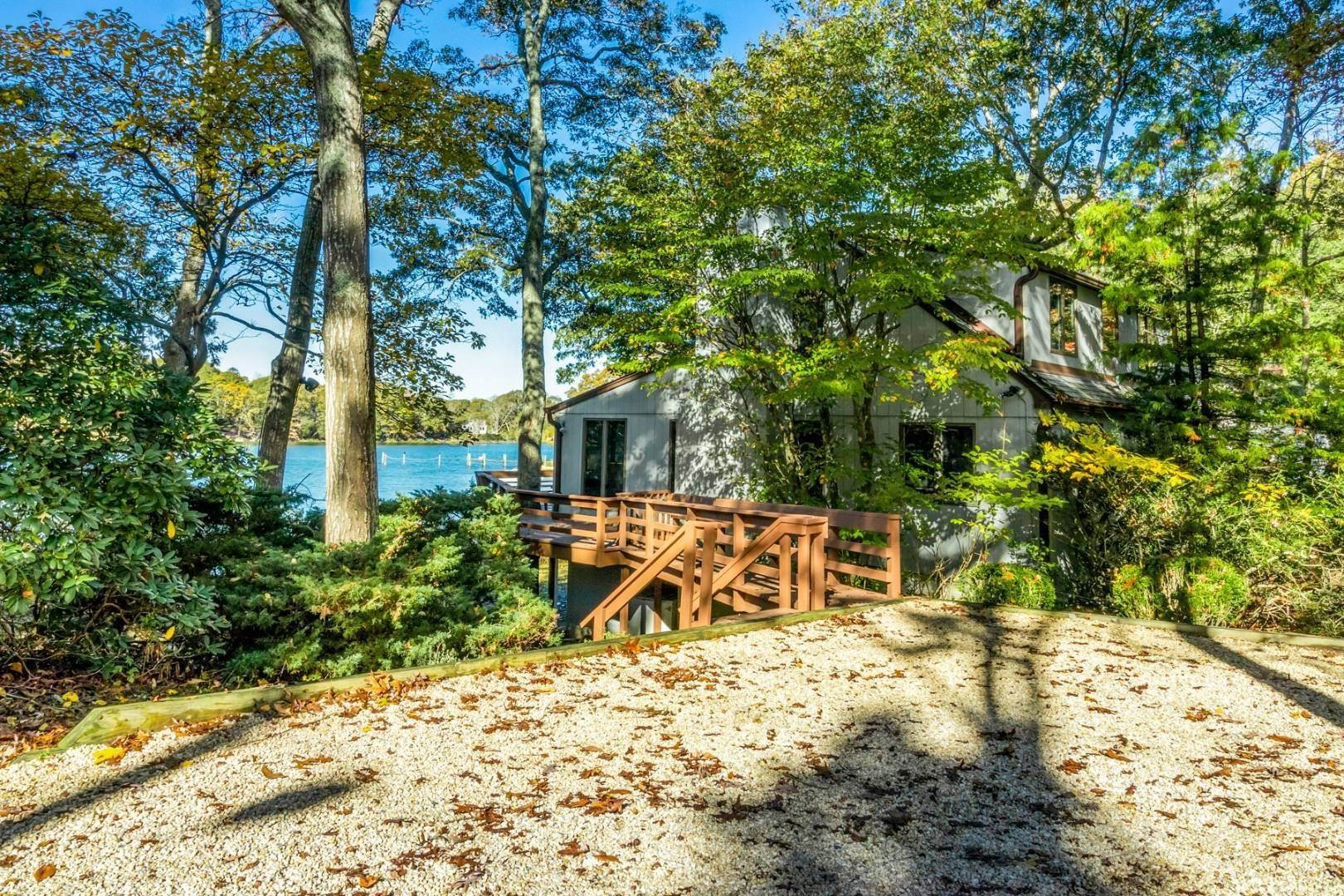 2. Single Family Home at Southampton Water Views With Dock Southampton, NY 11968