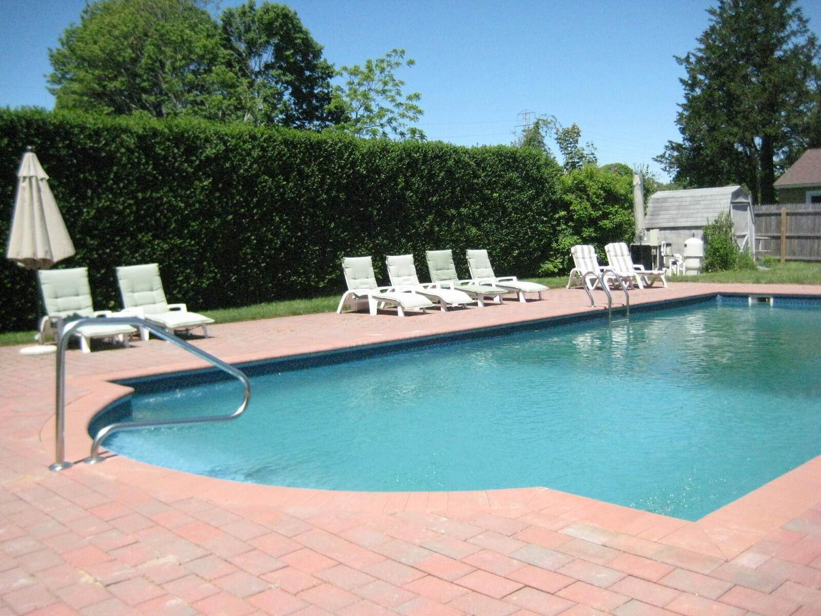 Single Family Home at Village Three Bedroom Cottage With Pool Southampton, NY 11968