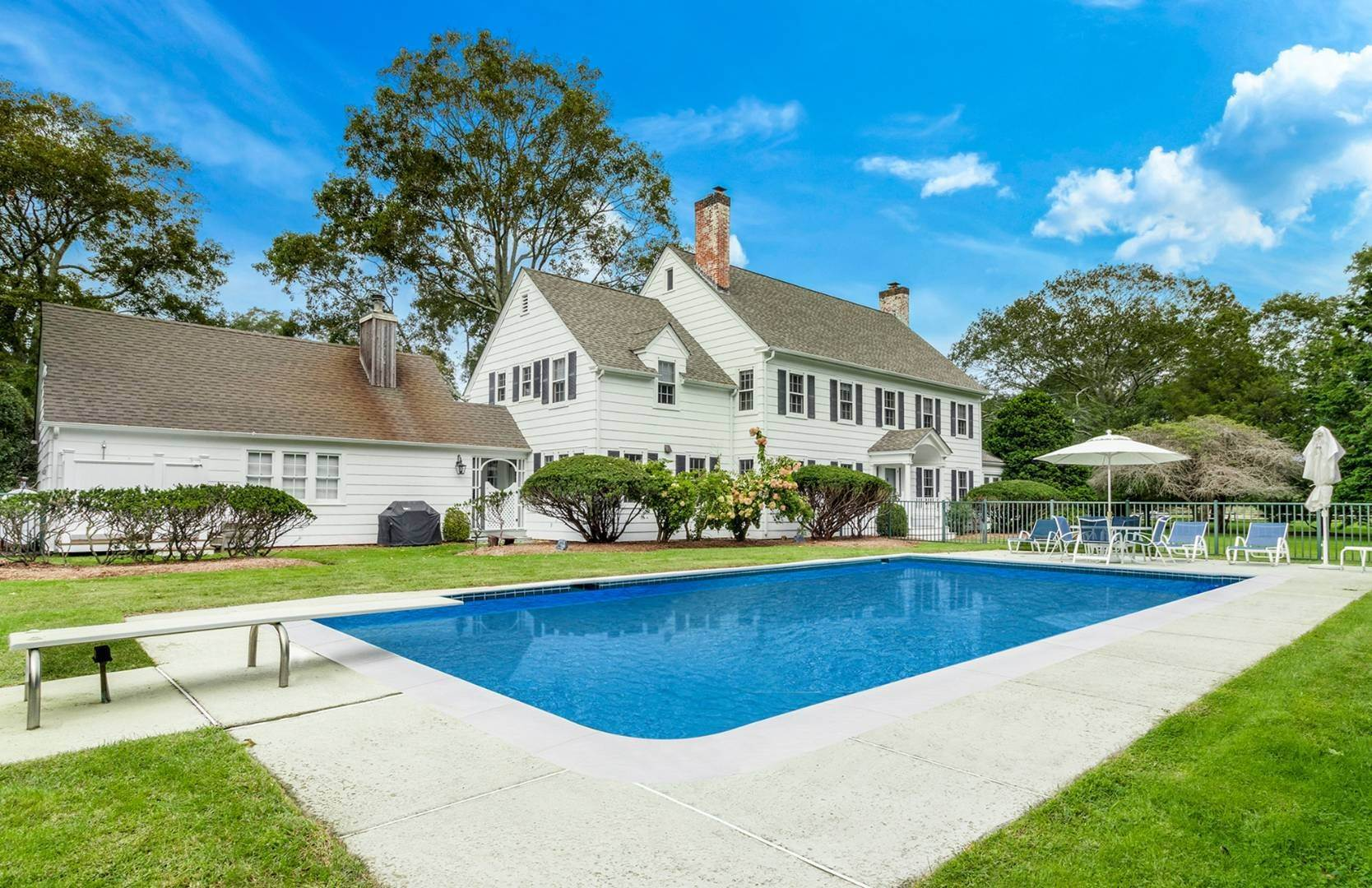3. Single Family Home at Retreat In Quiogue With Heated Pool 50 Homestead Road, Quiogue, NY 11978