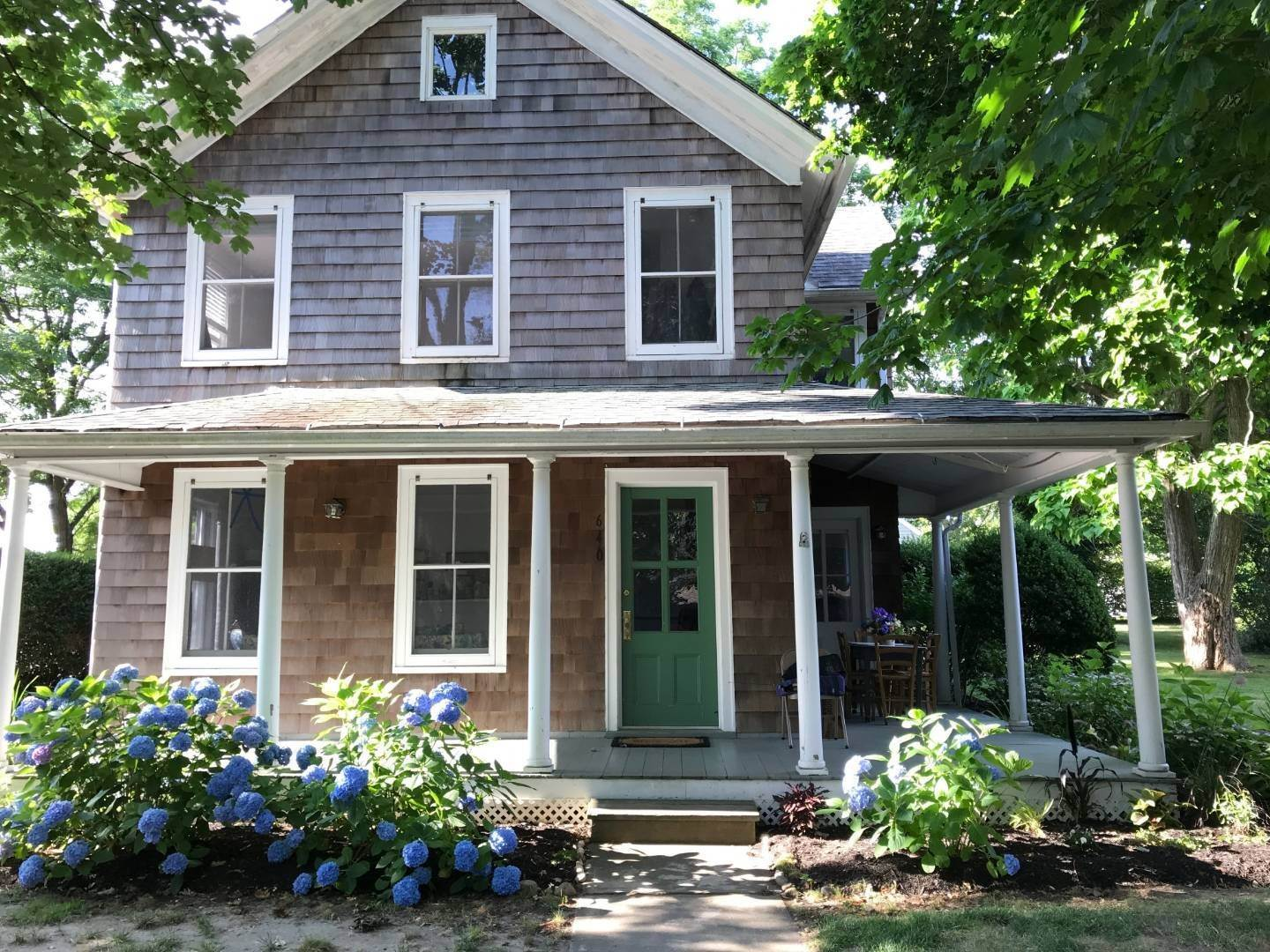 Single Family Home at Historic Village Home Close To Bay Beach 640 Orchard St, New Suffolk, NY 11956