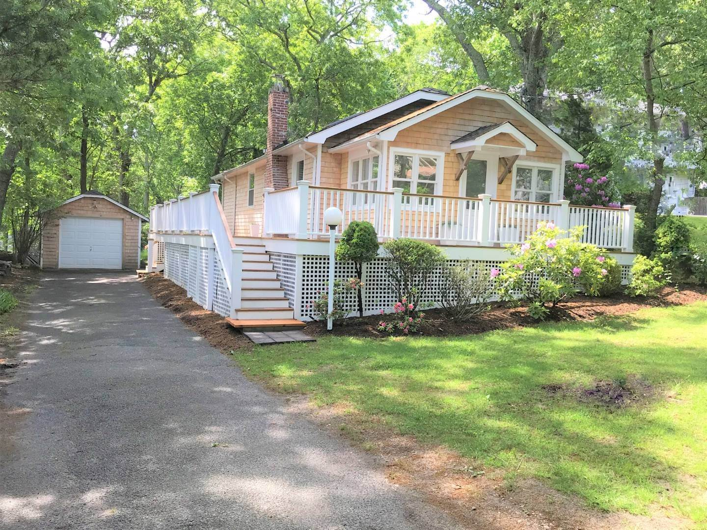 Single Family Home at Sag Harbor Cottage With Long Beach Views 6 Wickatuck Drive, Sag Harbor, NY 11963