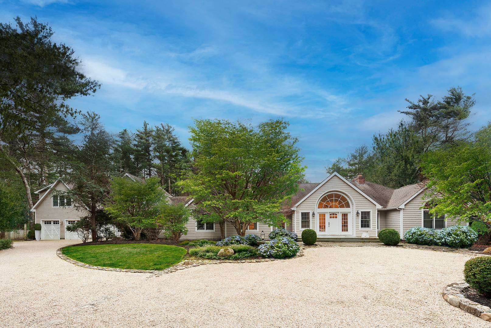 Single Family Home for Sale at Gated Six Bedroom Residence On 4 Acres With Tennis 25 Crooked Highway, East Hampton, NY 11937