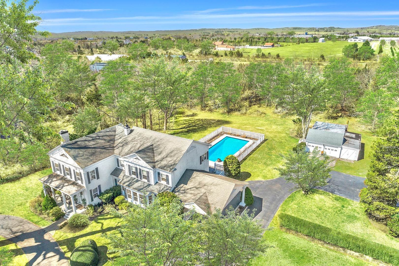 Single Family Home for Sale at Classic 4.5 Acre Estate, Water Mill 1728 Montauk Highway, Bridgehampton, NY 11976