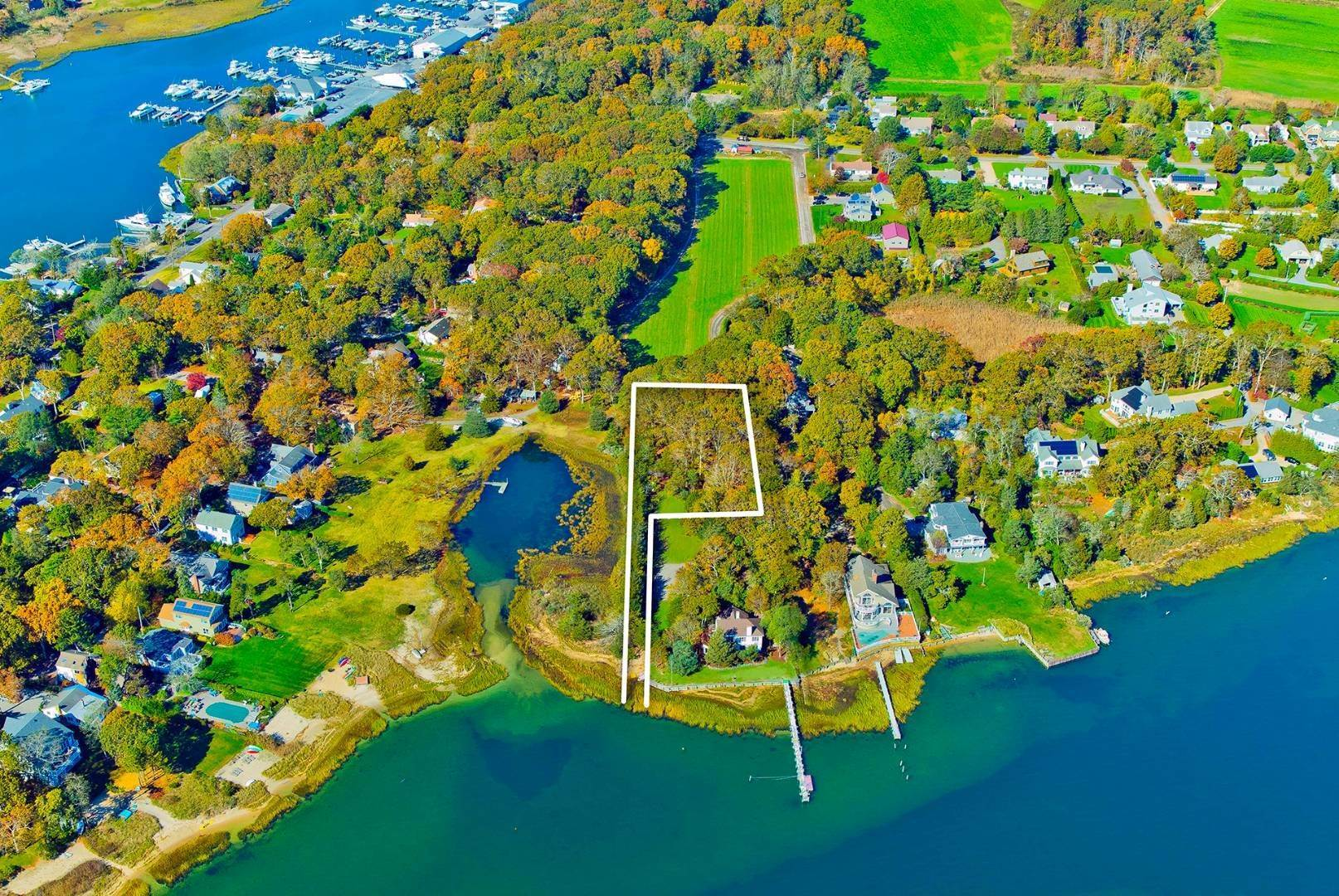 Land for Sale at Aquebogue - Bayfront Land 105a Jacobs Place, Aquebogue, NY 11901