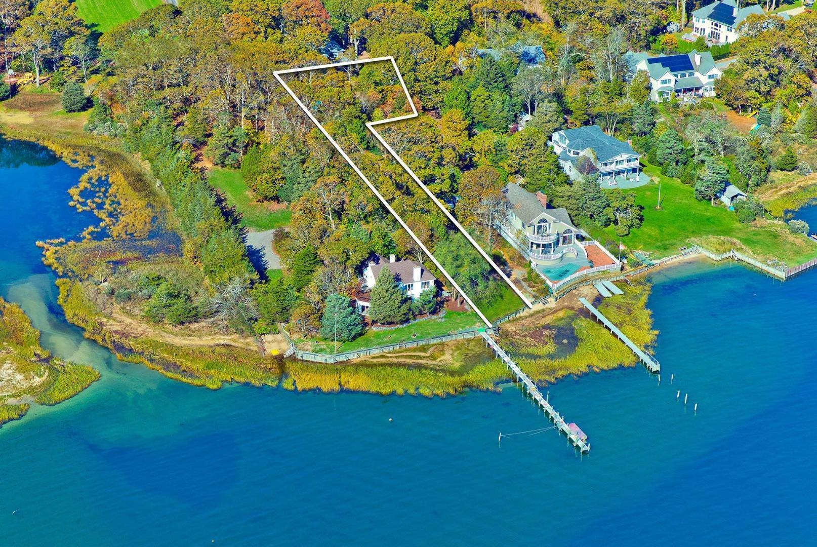 Land for Sale at Aquebogue - Bayfront Land 103 Jacobs Place, Aquebogue, NY 11901