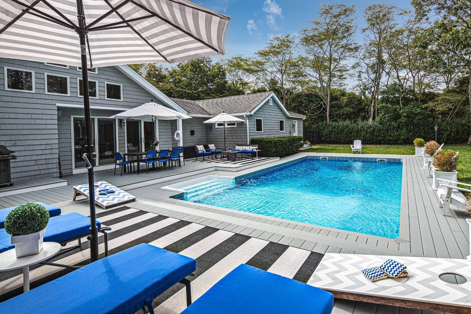 Single Family Home at Westhampton 4 Bedroom Modern With Pool Westhampton, NY 11977