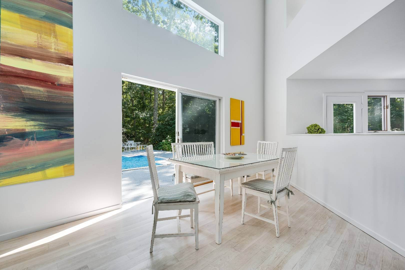 Single Family Home for Sale at Private Modern In East Hampton 25 Alewive Brook Road, East Hampton, NY 11937
